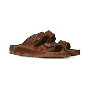 BIRKENSTOCK Arizona Soft Footbed Cognac Oiled Leather men 40