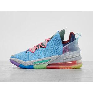 Nike LeBron 18 - BLU/GOLD/BLU/GOLD, BLU/GOLD/BLU/GOLD  - Male - Size: 47.5