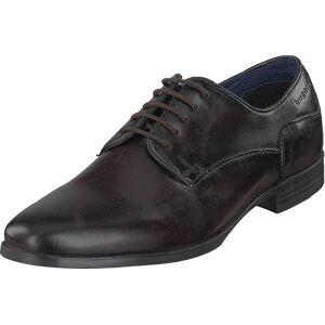 Bugatti Zenobio Dark Brown, Kengät, Matalat kengät, Juhlakengät, Musta, Miehet, 45