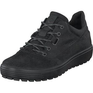 Ecco Soft 7 Tred Black-black, Kengät, Matalat kengät, Kävelykengät, Musta, Miehet, 40