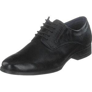Bugatti Zenobio Black, Kengät, Matalapohjaiset kengät, Juhlakengät, Musta, Miehet, 44