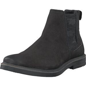 Bugatti Vando Black, Kengät, Bootsit, Chelsea boots, Musta, Miehet, 42