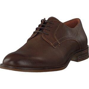 Bianco Biabyron Leather Derby Cognac, Kengät, Matalat kengät, Juhlakengät, Ruskea, Miehet, 40