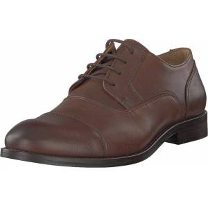 Bianco Biaabbot Leather Derby Cognac, Kengät, Matalat kengät, Juhlakengät, Ruskea, Miehet, 42