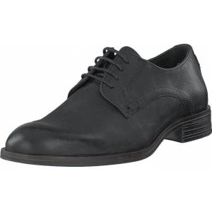 Bianco Biabyron Leather Derby Black, Kengät, Matalapohjaiset kengät, Juhlakengät, Musta, Miehet, 42