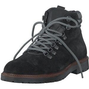 Bianco Biacarrick Suede Boot Black, Kengät, Bootsit, Kengät, Musta, Miehet, 40