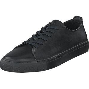 Bianco Biaajay Leather Sneaker 100 Black, Kengät, Matalapohjaiset kengät, Juhlakengät, Musta, Miehet, 44