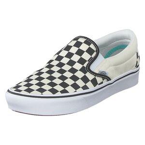 Vans Ua Comfycush Slip-on (classic) Checkerboard/true Wh, Kengät, Valkoinen, EU 38