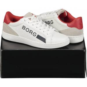 Björn Borg So T330 Low Ctr M Tennarit WHITE/RED  - Size: 40