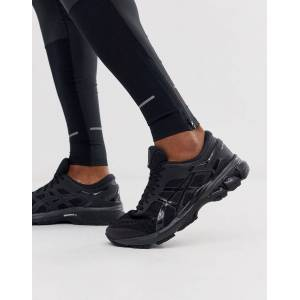 Asics Running gel kayano 36 trainers in triple black - Black