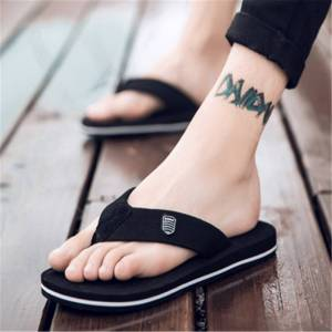2020 New Arrival Summer Men Flip Flops High Quality Beach Sandals Anti-slip Zapatos Hombre Casual Shoes Wholesale