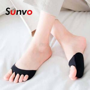 Five Toes Forefoot Pads for Women High Heels Half Insoles Calluses Corns Foot Pain Care Absorbs Shock Socks Toe Pad Inserts
