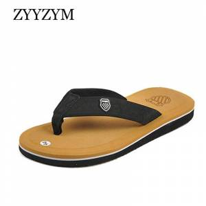 ZYYZYM Flip Flops Women Men Slippers Summer Anti-skid Outdoor Light Casual Beach Male Sandals Household Slipper