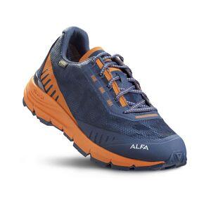 ALFA Ramble Advance GTX - Herre  - Sko - Blå / Orange  - 42