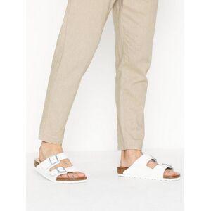 Birkenstock Arizona Sandaler & flip flops White