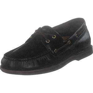 Rockport Perth Dk Brown Pull Up, Sko, Lave sko, Båt sko, Brun, Herre, 42