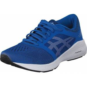 Asics Roadhawk Ff Gs Victoria Blue/white/black, Sko, Sneakers & Sportsko, Løpesko, Blå, Barn, 36