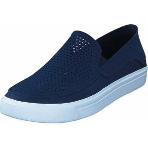 Crocs Citilane Roka Slip-on M Navy/white, Sko, Lave sko, Canvas sko, Blå, Herre, 39