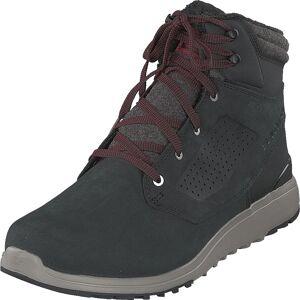 Salomon Utility Winter Cs Wp Black/black/reddahlia, Sko, Boots, Vandreboots, Svart, Herre, 45