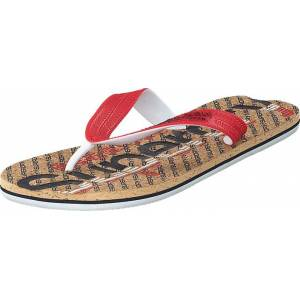Superdry Cork Colour Pop Flip Flop Navy/true Red/cork, Sko, Sandaler & Tøfler, Flip Flops, Rød, Beige, Blå, Herre, 40