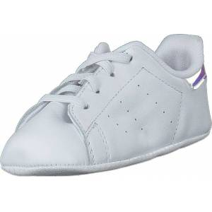 adidas Originals Stan Smith Crib Ftwr White/ftwr White/silver M, Sko, Sneakers & Sportsko, Lave Sneakers, Hvit, Barn, 20