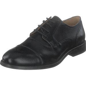 Bianco Biaabbot Leather Derby Black, Sko, Lave sko, Finsko, Svart, Herre, 44