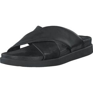 Clarks Sunder Cross Black Leather, Sko, Sandaler og Tøfler, Flip Flops, Svart, Herre, 41