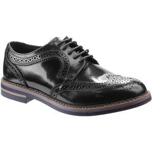 Base London menns Kent Hei Shine Lace opp Leather Oxford sko