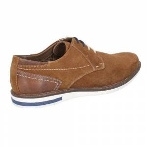 Hush Puppies Hush valper menns Frankie Lace opp skinn skoen Cognac 7 UK