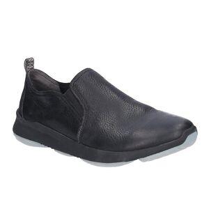 Hush Puppies Hush valper menns hanske slip på skinn sko Svart 12 UK