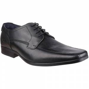 Base London Mens Lytham Excel Lace Up Leather Oxford Darby Dress Sh...