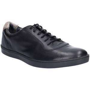 Base London Mens Hustle Softy Lace Up Casual Trainers Navy UK Size ...