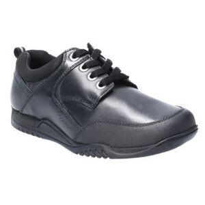 Hush Puppies Hush valper Dexter senior Lace opp Lær skolen sko Svart 5.5 UK