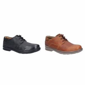 Hush Puppies Hush valper menns Max Hanston Lace up kjole sko Brown 7 UK