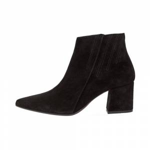 Bianco Ankle Boots Side zip