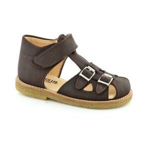 Angulus sandal, (Mørk brun)