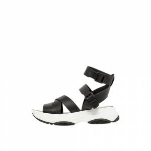 Bianco Chunky leather Sandals