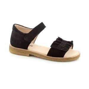 Angulus sandal, (Sort)