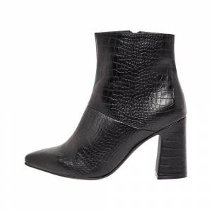 Bianco Ankle Boots Flared heel