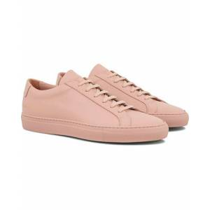 Common Projects Original Achilles Sneakers Light Pink Calf