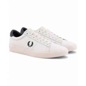Fred Perry Spencer Leather Porcelain/Navy