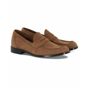 Aurlands Penny Loafer Sand Suede