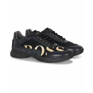 Boss Velocity Mesh Gold Edition Sneaker Black