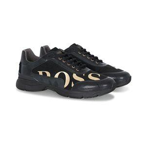 Boss Velocity Mesh Gold Edition Sneaker Black