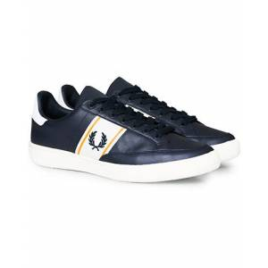 Fred Perry B3 Leather Sneaker Navy