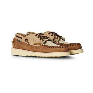 Sebago Cayuga Suede Campside Shoe Camel/Cognac