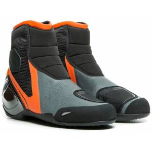 Dainese Dinamica Air Motorsykkel sko 45 Svart Oransje