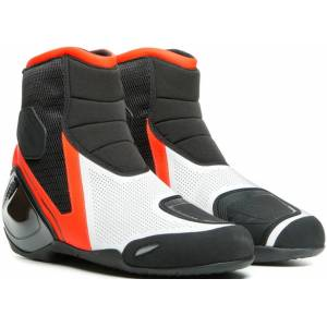 Dainese Dinamica Air Motorsykkel sko 45 Svart Hvit Rød