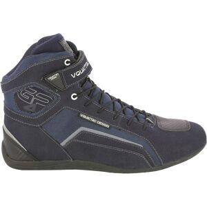 VQuattro GP4 19 Motorsykkel sko 36 Blå