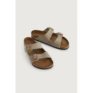 Birkenstock Sandaler Arizona Soft Footbed Beige  Male Beige